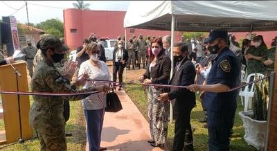 Inauguran sede del departamento antinarcóticos de la Policía en Concepción