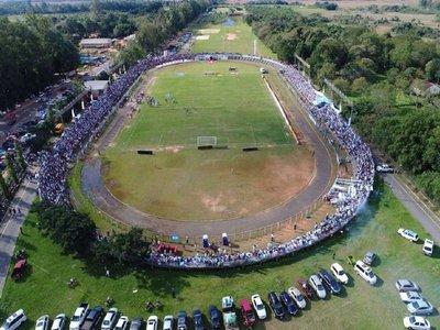 Repudian intención de transferir el Parque del Guairá a ligade fútbol