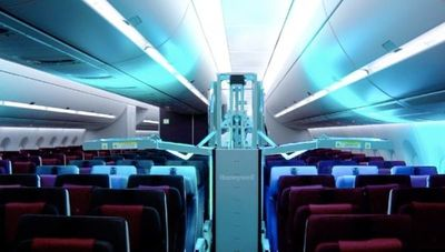Qatar Airways, la primera del mundo con tecnología ultravioleta de limpieza