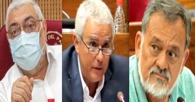 La Nación / Fuerte discusión entre senadores a favor y en contra de ocupaciones