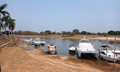 Bajante crítica del río continuará hasta finales de año