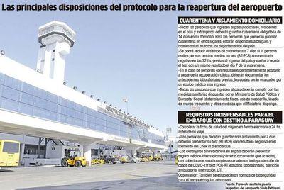 Advierten que protocolo para reabrir el aeropuerto no ayudará a reactivar vuelos