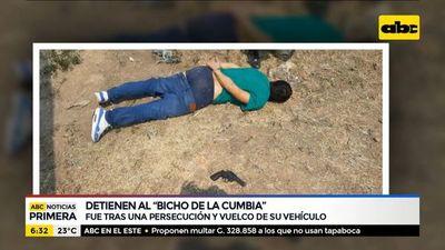 """Detienen al """"bicho de la cumbia"""""""