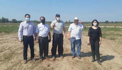 Intendente consiguió 300 cargas de material fresado para la UNCA