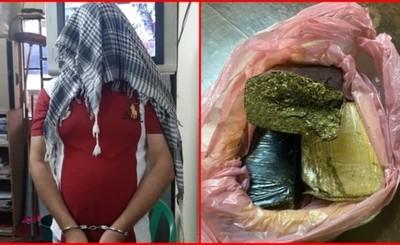 Agente penitenciario intentó meter marihuana al penal y quedó detenido