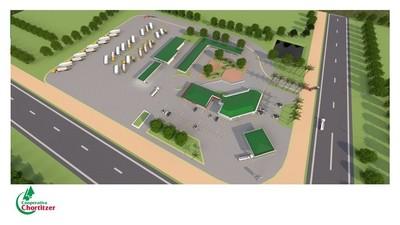 Chortitzer invertirá en un centro logístico de un millón de dólares en el Chaco