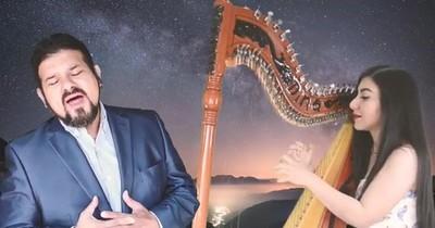La Nación / Tenor Francesco suma el arpa a cover de ABBA