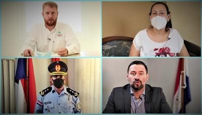 Mediante audiovisuales realizan campaña de sensibilización sobre COVID-19