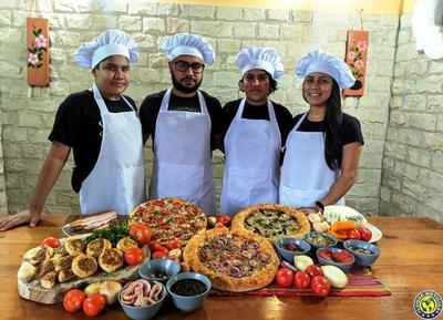 """""""Topo Pizzas"""" nació en plena cuarentena con sabor y toque casero •"""