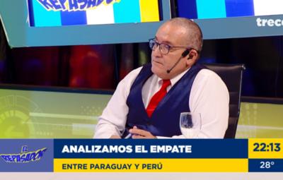 """""""No me gustó el posicionamiento del equipo"""": El Profe Valenzuela analizó a la Albirroja"""