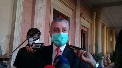 """Villamayor: """"No me siento autorizado para hablar de cambios en el gabinete"""""""