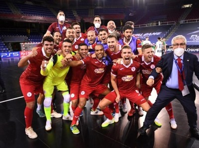 La Final de UEFA CHAMPIONS LEAGUE de futsal con sello guaraní