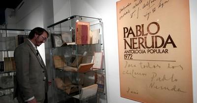 La Nación / Fracasa subasta de Neruda tras dudas por autenticidad