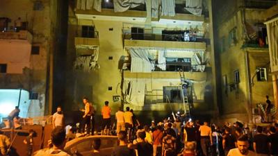 Aumentan a 4 los muertos por la explosión en el centro de Beirut