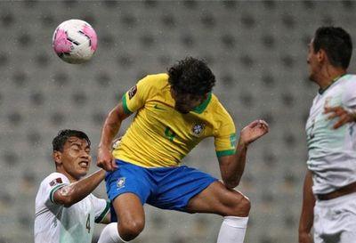 Brasil golea a Bolivia 5