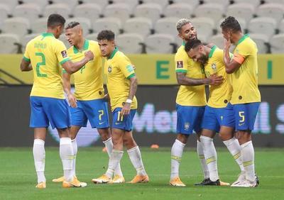 Brasil y un arrollador primer paso hacia Catar