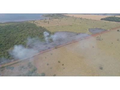 Sospechan que incendios en  distrito de Yguazú  habrían sido provocados