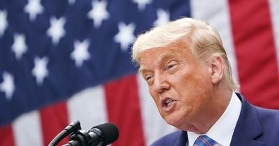La Nación / Rezagado en las preferencias, Trump retorna a la campaña