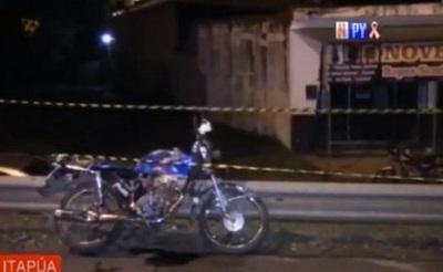 Motociclista fallece en accidente de tránsito en Encarnación