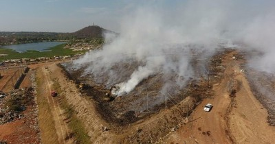 La Nación / Investigarán para dar con los responsables de incendios en Banco San Miguel y Cateura