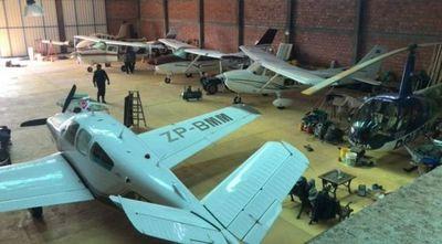Hoy podría ser imputado el dueño del hangar donde encontraron helicópteros y avionetas