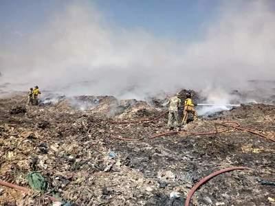 Incendio en Cateura: Mades abre sumario a empresa, por maniobras irregulares