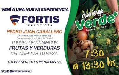 Fortis: El domingo verde llega a Pedro Juan Caballero