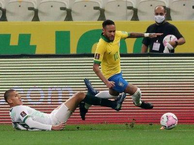 "Tite elogia el ""gran partido"" de Neymar a pesar de no marcar frente a Bolivia"