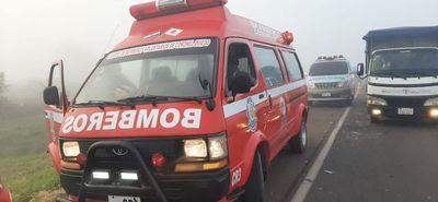 Familia muere en accidente por adelantamiento indebido de una camioneta