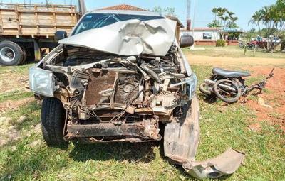 Grave accidente deja tres fallecidos en Coronel Oviedo