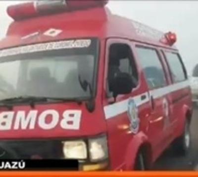 Familia muere en accidente de tránsito en Caaguazú