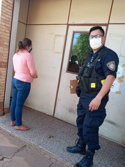 Detienen a una mujer acusada de apuñalar a un hombre en Mbuyapey