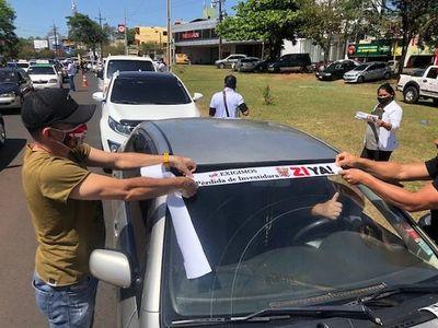 Esteños inician campaña para exigir expulsión de Javier Zacarías del Senado