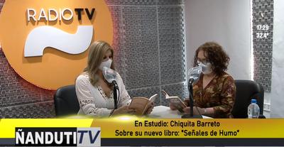 """La escritora Chiquita Barreto presenta su nuevo libro: """"Señales de humo"""""""