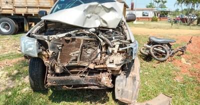 La Nación / En Coronel Oviedo, mueren 3 miembros de una familia en accidente de tránsito