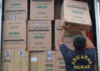 Coronavirus no paró contrabando de cigarrillos en Perú