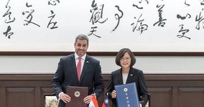 La Nación / Paraguay saludó a Taiwán por fiesta del Doble Diez