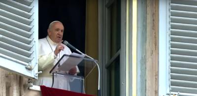 El papa Francisco lamenta los incendios en Paraguay y America.
