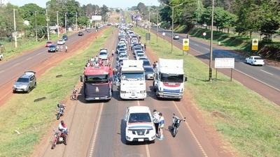 Caravana en el este del país solicita destitución de Zacarías Irún
