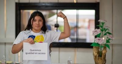La Nación / Día internacional de la niña: Asumieron espacios de poder en busca de un cambio duradero hacia la igualdad