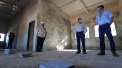 Avanzan las obras de las unidades de Salud de la Itaipú Binacional
