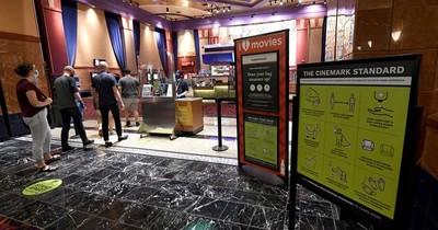 La Nación / Sofocados por la pandemia, cines de EEUU piden ayuda