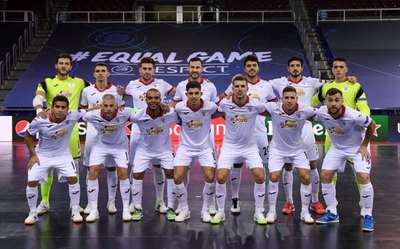 El 'Cholo' Salas es subcampeón de la Liga de Campeones de Europa
