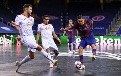 El 'Cholo' Salas es subcampeón de la Champions League de Futsal FIFA