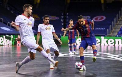 El Cholo Salas es subcampeón de la Champions League de Futsal FIFA