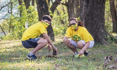 """""""Franco yo te cuido"""", limpiando celebran nuevo aniversario de la ciudad"""
