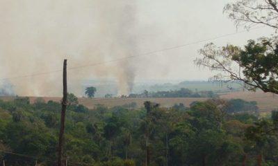 Invasores de reserva de Itakyry provocan incendio y pobladores exigen desalojo