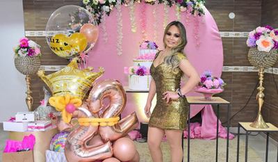 Lisandry festejó su cumple como toda una princesa