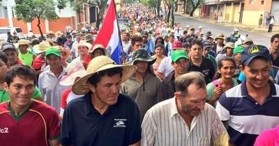 La Nación / Campesinos se movilizan a partir de mañana, de manera indefinida