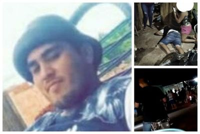 Sicarios asesinan a balazos a un joven frente a una gomería en Pedro Juan Caballero